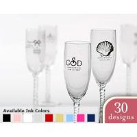 Quality Personalized Champagne Flute Choose from 30 Designs[Item# KPPS30005NA] for sale