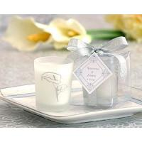 Quality Scented  Frosted Glass Votive- Calla Lily[Item# KP20021NA] for sale