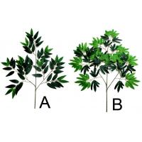 Quality French Ficus+Maple Ivy Natural Green for sale