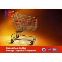 Best European Style Retail Zinc Metal For Trolleys Supermarket Shopping Carts , wholesale