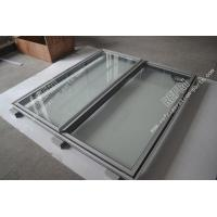 China A004 freezer double glass door on sale