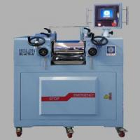 China LABORATORY ROLL MILL(electric heating/PLC programming Controller type) on sale