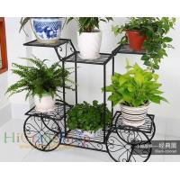 Buy cheap Iron Garden Flower Shelf Metal Flower Stand Home Decoration Metal craft Jardiniere from wholesalers