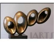 Best Sculpture Original handmade round circle sculpture for home art decoration wholesale