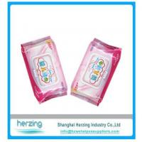 Buy cheap Softable disposable OEM brand baby wet wipe made in China from wholesalers