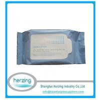 China Private label deep cleansing makeup remover wipes china supplier on sale