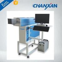 Buy cheap RF co2 laser tube 10W laser marking machine for boots from wholesalers