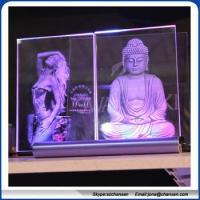 Buy cheap used 3d laser crystal,glass cube engraving machine from wholesalers