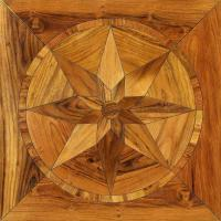 Buy cheap Art Parquetry wood floor medallions from wholesalers