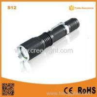 China POPPAS S12 Led Torch Lamp 5-Mode T6 LED 400LM Torch Flashlight on sale