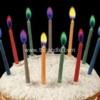 Best Magic Colorful Flame Birthday Taper Candle wholesale