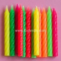 Best Party Time Spiral Twist Birthday Cake Candle wholesale