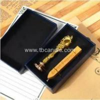 Buy cheap New Custom Sealing Wax Invitation Box Case Gift Set from wholesalers