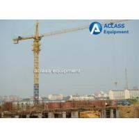 Buy cheap QTZ6012 Hammerhead Tower Crane 8 ton 60m Jib Hydraulic Overhead Crane Machine from wholesalers