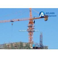 Buy cheap 65m Jib Construction Hammerhead Tower Crane 1.8t Tip Load Counter Weight from wholesalers