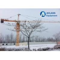 Buy cheap QTZ63 5610 6 Ton Hammerhead Tower Crane 56m Jib Self - Climbing Building from wholesalers