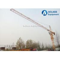 Buy cheap Construction Hammerhead Tower Crane 40m Free Height 150m Max Height Lifting from wholesalers