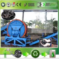 Quality Semi-Automatic tyre crushing machine for sale