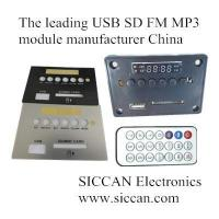 Quality usb sd fm mp3 module manufacturer china GW-802 for sale
