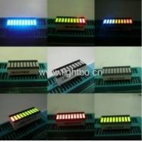 China 25.4x10.1x7.9 mm 10-Segment LED Light Bar Gradh Array,Various colours available on sale