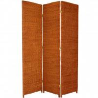Best 6 ft. Tall Rush Grass Woven Room Divider wholesale