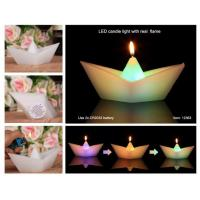Best ITEM:12363 Led candle light with real flame wholesale