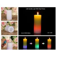 Best ITEM:12356 Led candle light with real flame wholesale