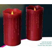 Best ITEM:12365 real wax led candle light wholesale