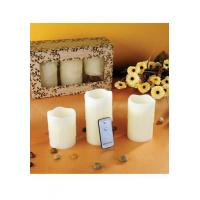 Buy cheap ITEM:12379 FLAMELESS LED CANDLE SET from wholesalers