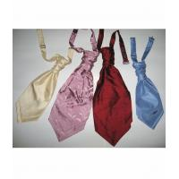 Quality Ties Silk Dupion Pre tied Cravats for sale