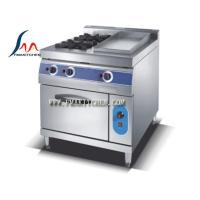 Buy cheap 2-Burner gas range with gas griddle & gas oven from wholesalers