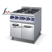 Quality 4-burner gas range with cabinet for sale