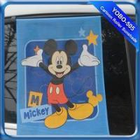 China Cartoon Roller Sunshade Car Windshield Roller Sunshade Adjustable Sunshade on sale