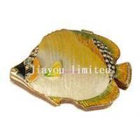 Quality TBP0005Y-Tropical Fish Trinket Box nautical gifts for her/him faberge jewelry box for sale