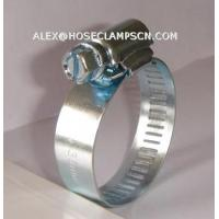 Quality AT-02 Galvanized steel American type hose clamp for sale