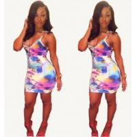 Quality Sexy Printted Mini Dress 21447 for sale