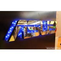 China Stud Mounting Reverse Lit Metal Letters Sign on sale