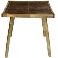 China Japanese Bamboo End Table on sale