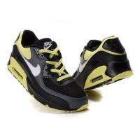China Latest Design Air Max 90 Mens Shoes YellowGreen White Black Gray on sale