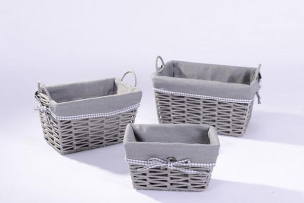 Buy gift baskets 803033 paper woven gift baskets with fabric liner at wholesale prices