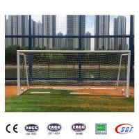 Outdoor equipment for training portable soccer goal post mini
