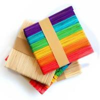 Quality Craft Stick Popsicle Stick for sale