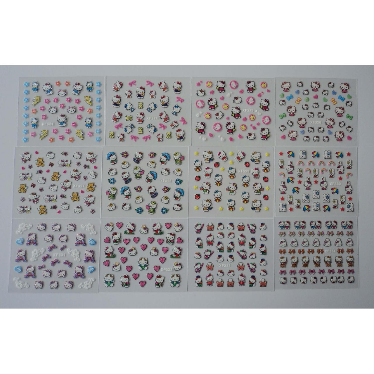Buy cheap Stickers 3D nail sticker from wholesalers