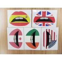 Quality Stickers Lip sticker with tooth for sale