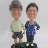 Quality Dad and Mom bobble for sale