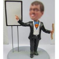 Quality professional super man bobbleheads for sale