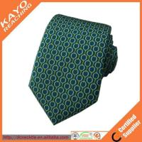 Printed custom made silk ties