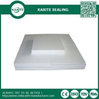 Quality Low Frictional Molded Teflon Ptfe Sheet Natural Color Molybdenum Filled for sale