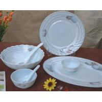 China heat resistant opal glassware dinner set, opal galss table ware on sale