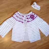 China crochet baby clothes crochet baby jacket new baby clothes on sale